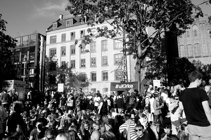 Distortion Festival 2017 Vesterbro ukirke Allan Kortbaek mutuks