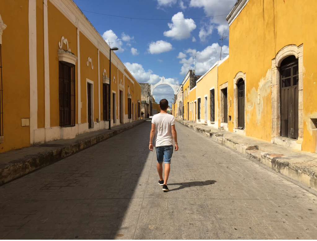 All things yellow - cruise the brightly-coloured streets of Izamal, a town with a rich religious heritage